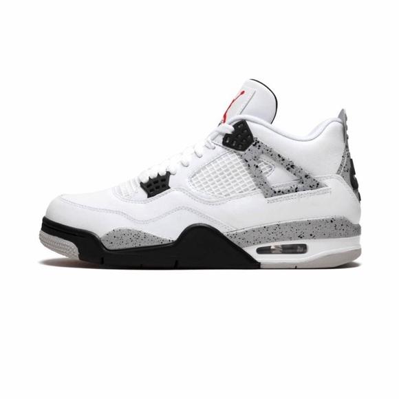 26d44ed06d0 Jordan Shoes | Air 4 Retro Og White Cement | Poshmark